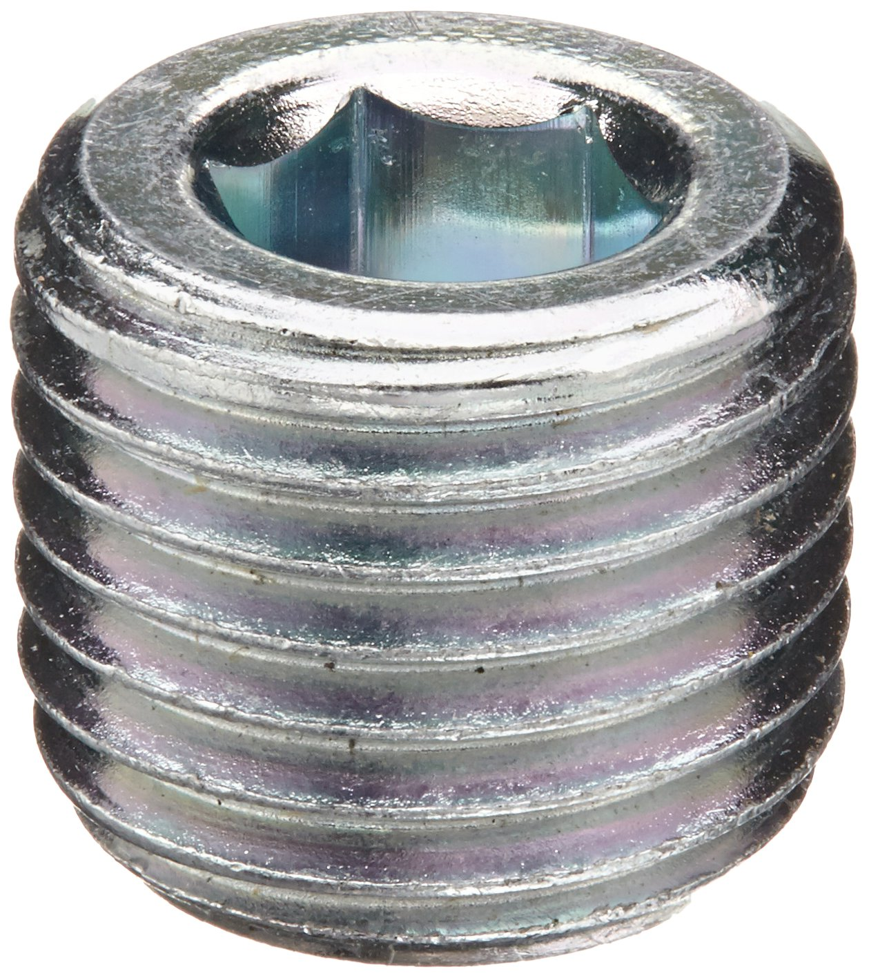 1//4 NPT Male Hex Socket Plug Eaton Aeroquip 2222-4S Steel Pipe Fitting