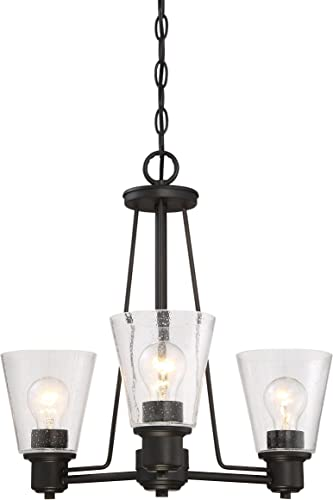 Designers Fountain 88083-ORB Printers Row 3 Light Chandelier