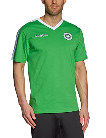 Kappa - Camiseta de fútbol sala, tamaño S, 04 clásico verde