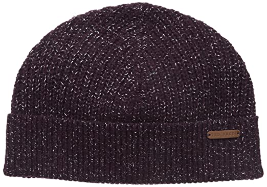 1ddbbb8be8c Ted Baker Men s Teahat Knitted Rib Beanie Hat