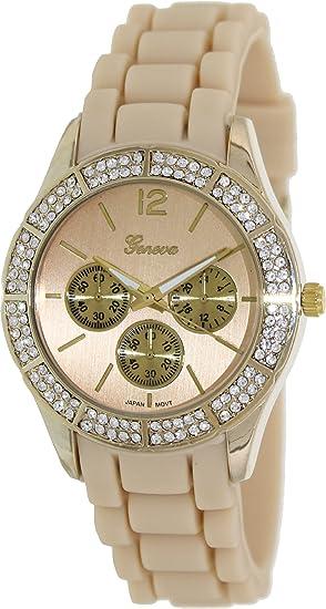Geneva Platinum 2971.TAN.GOLD Mujeres Relojes