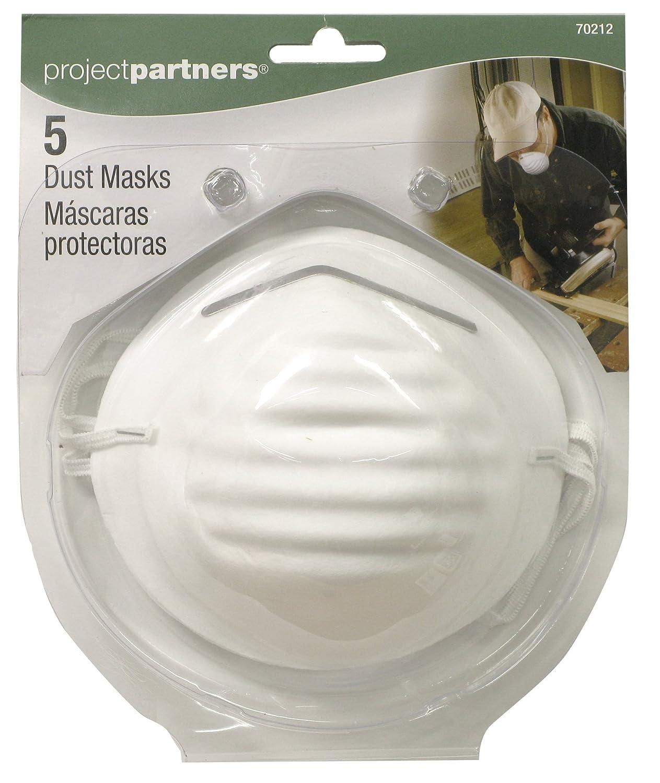Project Partner 70212 Dust Masks, 5-Pack
