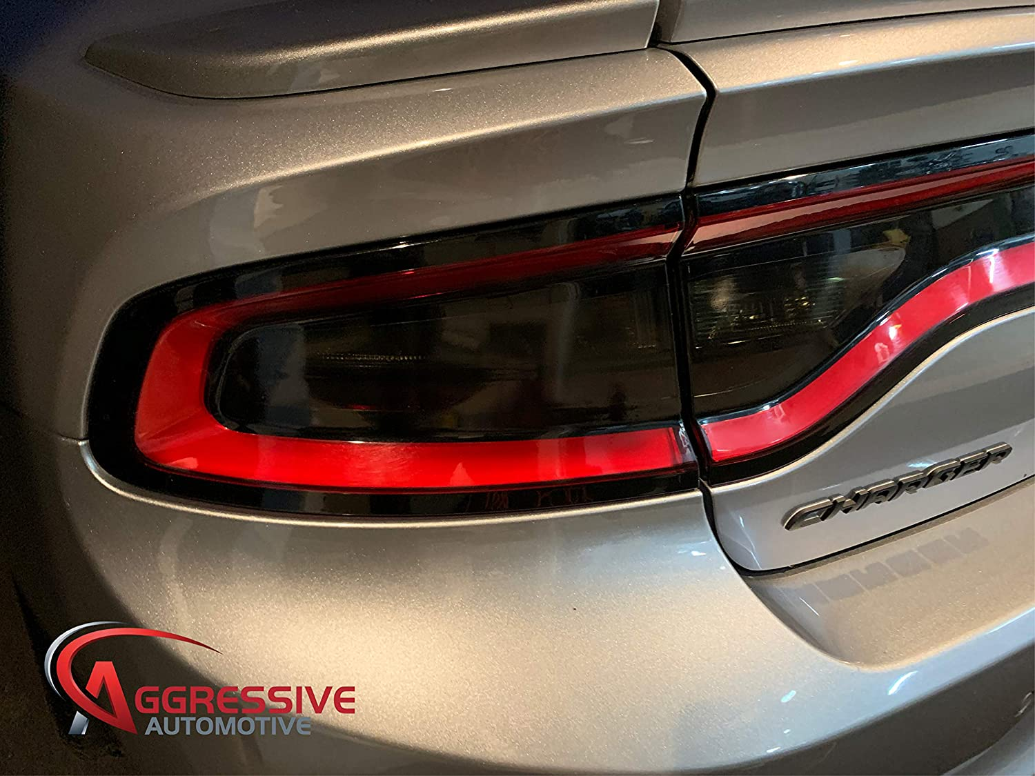20/% Package Deal Precut Smoked Vinyl Tint Film Black Out Dark Smoked Aggressive Overlays for 2015-2020 Dodge Charger Package Deal Front /& Rear Tinted Side Marker Light Overlays Tail Light