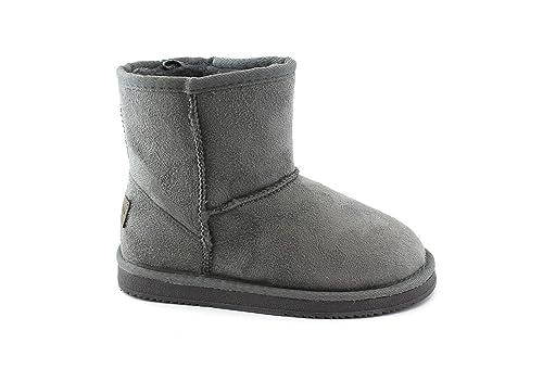 GRUNLAND CROM PO1133 34/39 Botas Grises Botines niña 39: Amazon.es: Zapatos y complementos