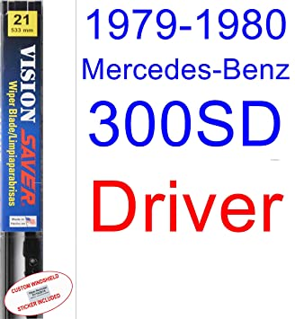1979-1980 Mercedes-Benz 300SD Wiper Blade (Driver) (Saver Automotive Products