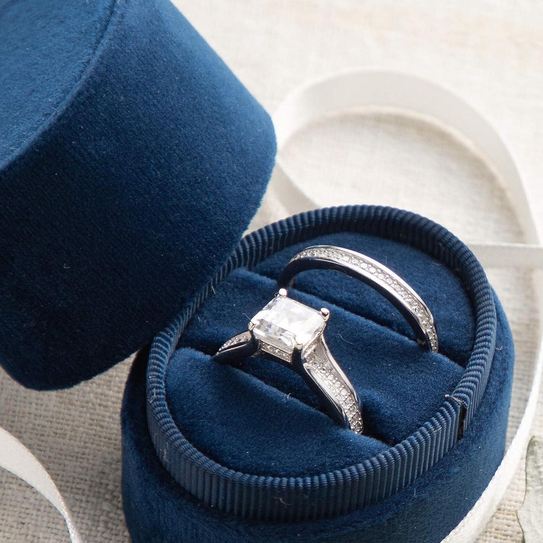 Ring Bearer Box Velvet Ring Box Pearl Engagement Photo Shoot Bridal Gift Wedding Ring Box Engagement Ring Box Wedding Photo Shoot