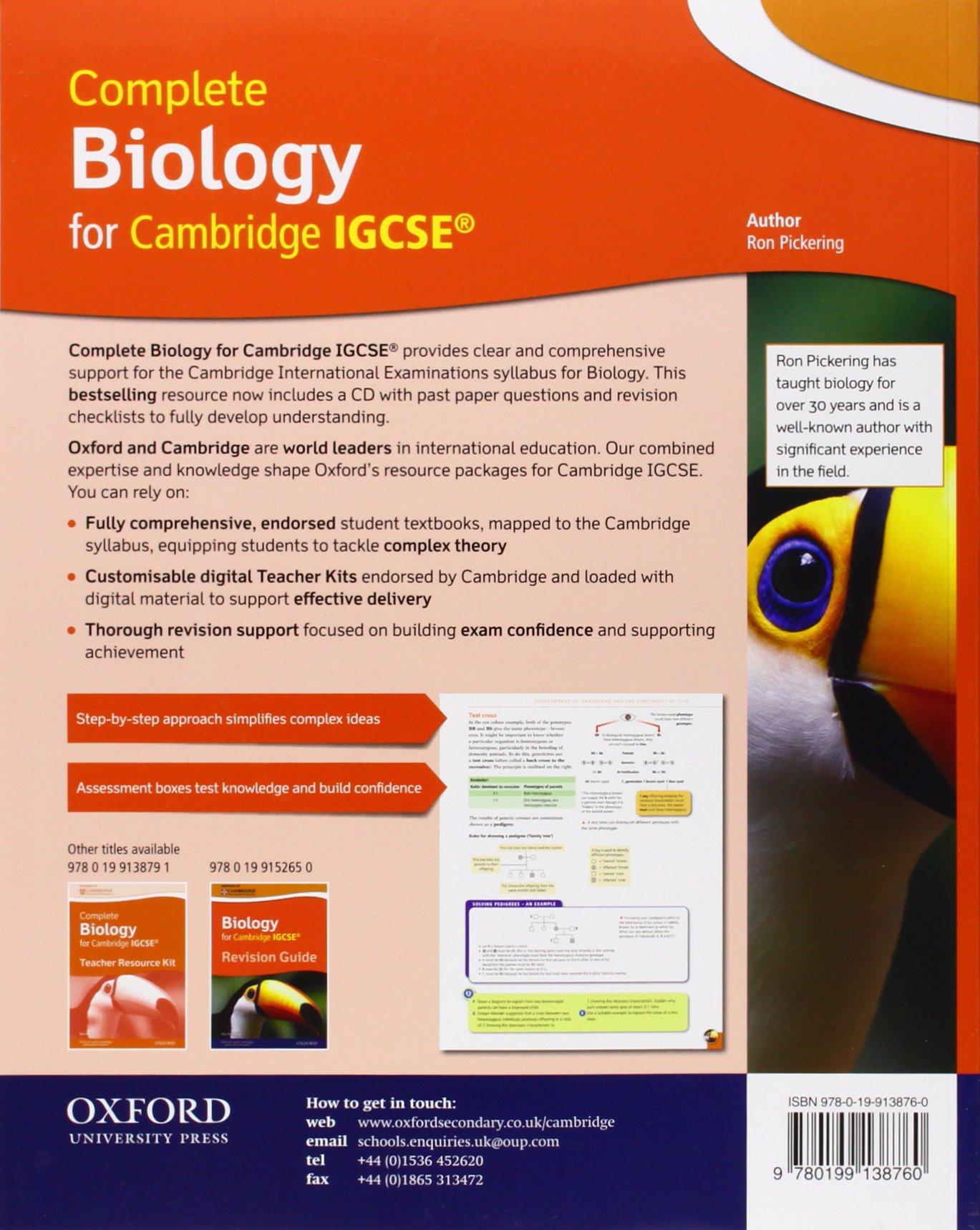 Complete biology for Cambridge IGCSE. Per le Scuole superiori ...