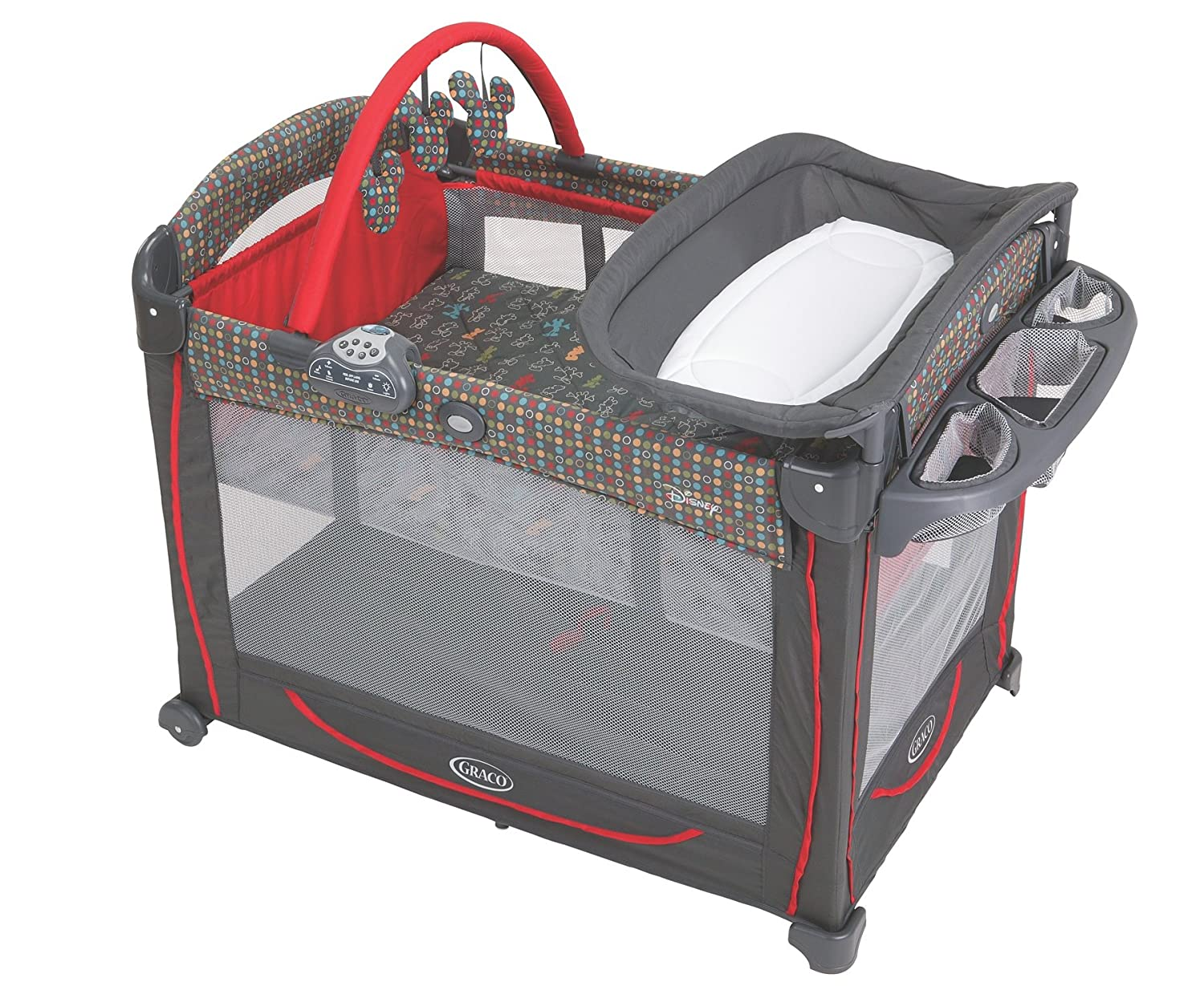 a4af3793c72 Amazon.com   Graco Element Pack  N Play Playard with Bassinet ...