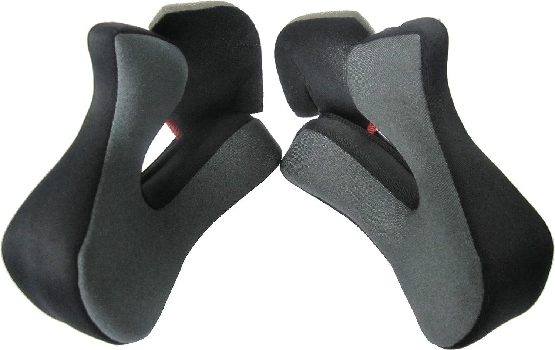 02-101 LS2 Helmets Cheek Pad for MX453 Helmets Black, X-Small