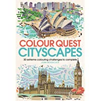 Colour Quest® Cityscapes: 30 Extreme Colouring Challenges to Complete