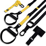 TRX ALL-IN-ONE Suspension Training: Bodyweight Resistance System | Full Body Workouts for Home, Travel, and Outdoors…