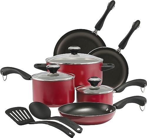 Signature 11-Piece Nonstick Cookware Pots and Pans Set