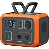 MAXOAK Power Station 500Wh Solar Generator Bluetti AC50S Wireless Charging Battery Backup for Outdoor Tailgating Camping RV T