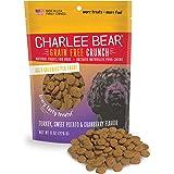 Charlee Bear 131303 Grain-Free Bear Crunch Turkey, Sweet Potato and Cranberry Flavor