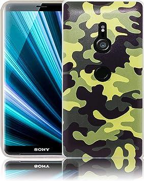 thematys® Sony Xperia XZ3 Camuflaje Funda de Silicona para teléfono móvil: Amazon.es: Electrónica