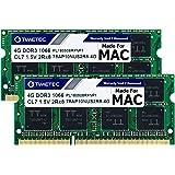 Timetec Hynix IC 8GB KIT(2x4GB) Compatible for Apple DDR3 1067MHz / 1066MHz PC3-8500 for MacBook, MacBook Pro, iMac, Mac Mini