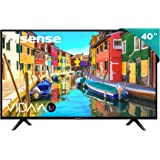 "Hisense 40H5F Smart TV 40"", 1080p, Built-in Wi-Fi, 2019, Color Negro"