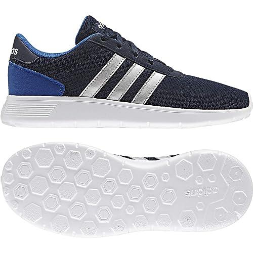 adidas Lite Racer K, Zapatillas Unisex Niños, (Maruni/Plamat/Azul), 36 EU: adidas Neo: Amazon.es: Zapatos y complementos
