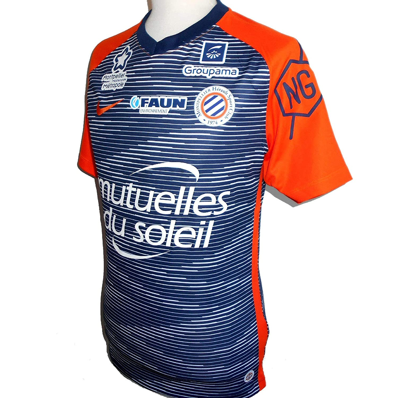 Nike Montpellier HSC - Camiseta de fútbol para Hombre (2018-2019 ...