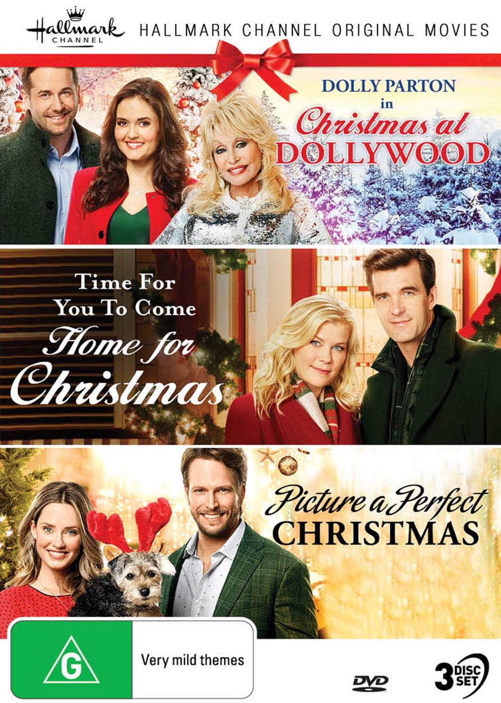 Hallmark Christmas 3 Film Collection (Christmas at Dollywood/Time for You to Come Home for Christmas/Picture a Perfect Christmas)