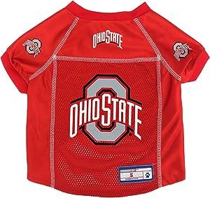 Littlearth NCAA Ohio State Buckeyes Pet Jersey, XL