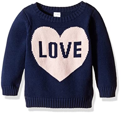 Baby Sweaters 6 Months Carter's Baby Girls Sweater 235g548, Navy, 18M