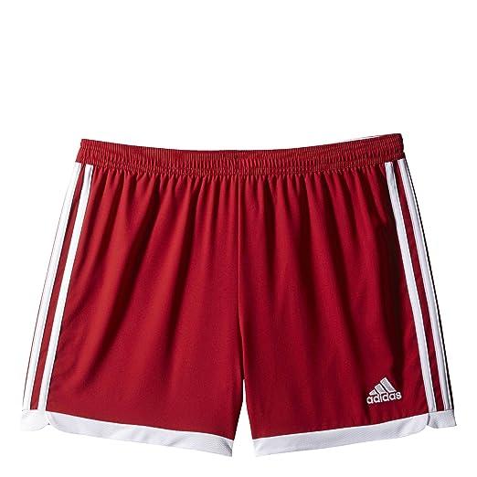 846f22d13c9 Amazon.com  Adidas Tastigo 15 Womens Soccer Shorts Power Red-White ...