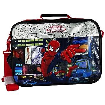 Marvel Spiderman Carteron Bandolera Mochila para el Niño Escuela Viaje Tablet Pc: Amazon.es: Equipaje