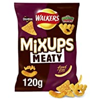 Walkers Mix Ups Meaty Flavour Snacks, 120g
