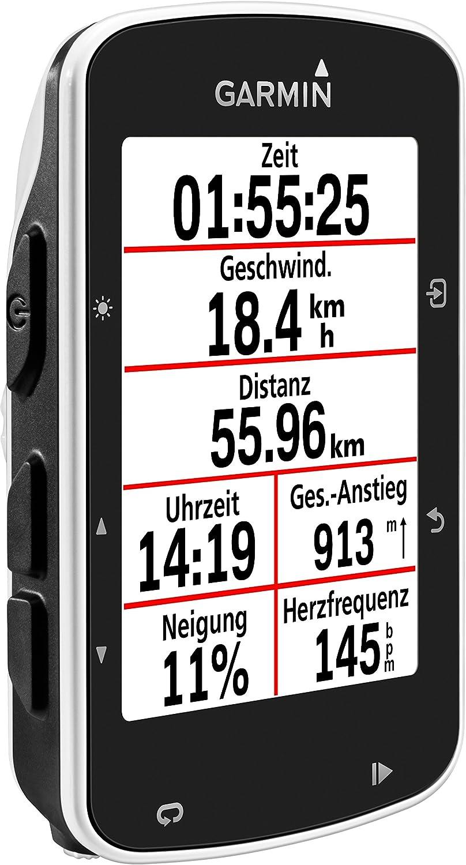 Garmin Edge 520 GPS - Ordenador de bicicleta sin banda de cardio y ...