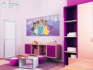 Disney Princesse Décoration pour Chambre d\'enfant Papier Peint ...