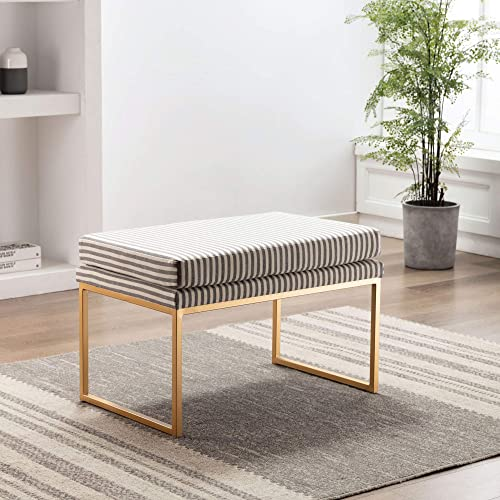 Modern Rectangular Ottoman Footrest Stool