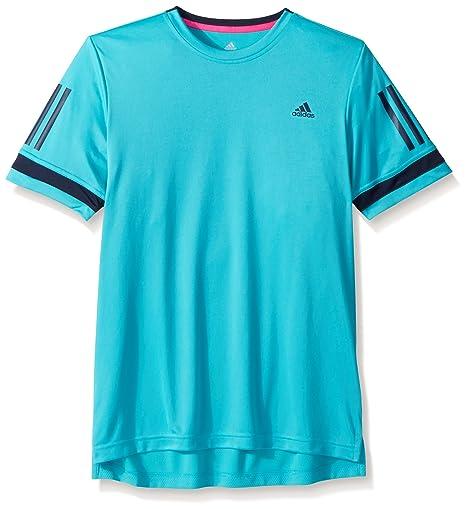 deb2e7c73c9aa Amazon.com : adidas Youth Tennis Club 3 Stripes Tee : Sports & Outdoors