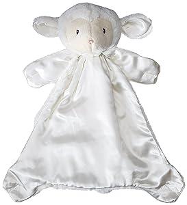 Baby GUND Lopsy Lamb Huggybuddy Stuffed Animal Plush Blanket