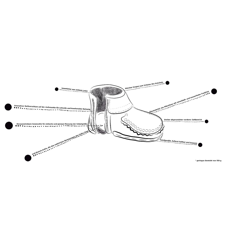 mokki Sneakers Babyschuhe, Lauflernschuhe, Krabbelschuhe, Krippeschuhe, mit  innovativem Reißverschluß  Amazon.de  Schuhe   Handtaschen 771836e73d