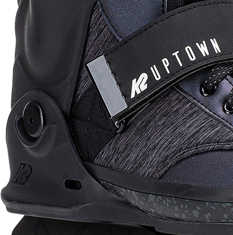K2 Skate Mens Uptown Inline Skate 5 Black Purple