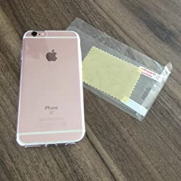 iphone 6s h lle silikon transparent klar tpu computer zubeh r. Black Bedroom Furniture Sets. Home Design Ideas