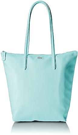 2b94ca14f0b Lacoste L.12.12 Vertical Tote Bag, Blue: Handbags: Amazon.com