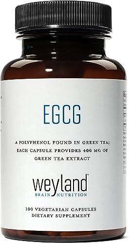 Weyland EGCG from Green Tea Extract, 400 mg 100 Vegetarian Capsules