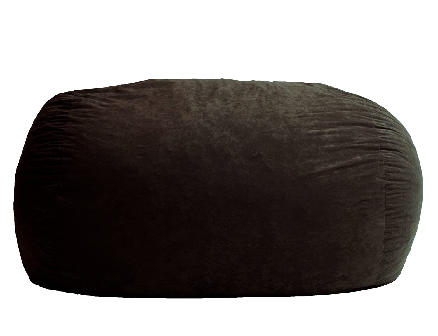 Amazon Big Joe XL Fuf Foam Filled Bean Bag Chair Comfort Suede Black Onyx Kitchen Dining