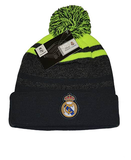 985671165a4 Image Unavailable. Image not available for. Color  Real Madrid Fc Beanie  Pom Pom Skull Cap Hat New Season 2015-2016