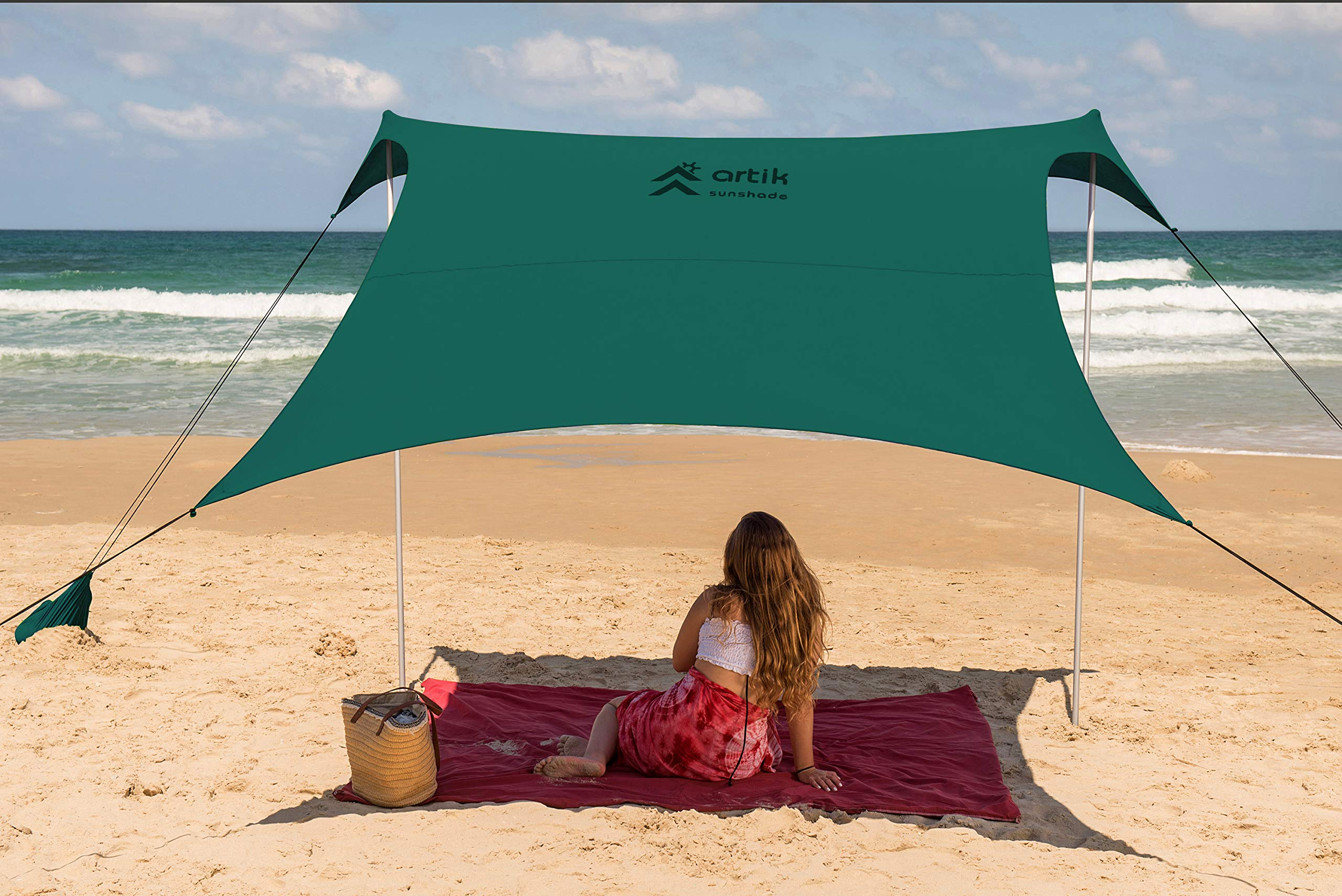Artik Sun Shade (Green, Large) by ARTIK SUNSHADE