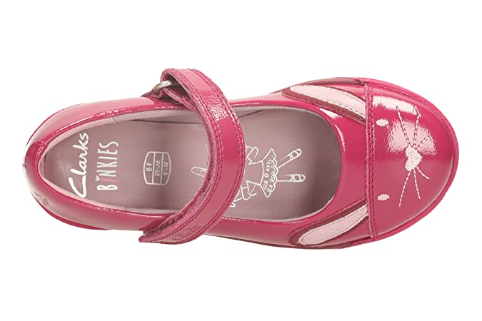 Clarks Chicas mordiscos lindas bombas ocasionales Berry Patent 12 F mLVCdiTcIW