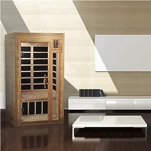 Maxxus Geneva 1-2-person Low EMF FAR Infrared Sauna, Curb Side Delivery