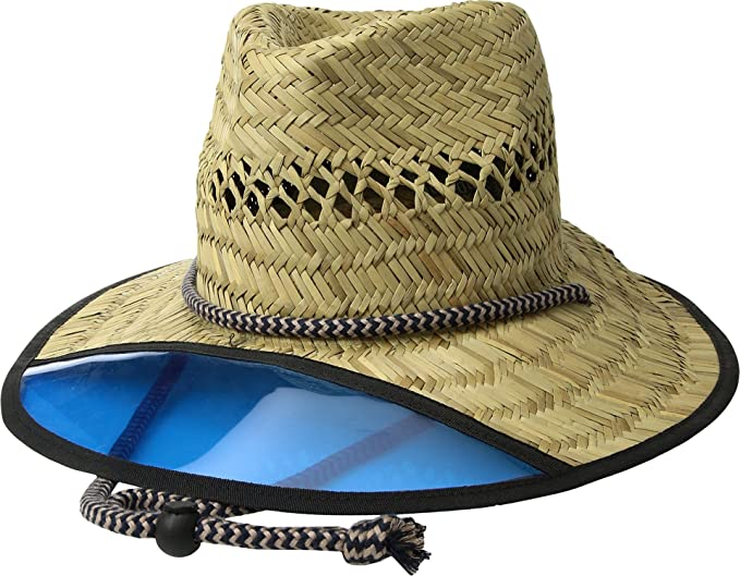 5eeb2e7940c53 Image Unavailable. Image not available for. Colour  Men s San Diego Hat  Company Lifeguard Safari Hat with Plastic Visor RSM585