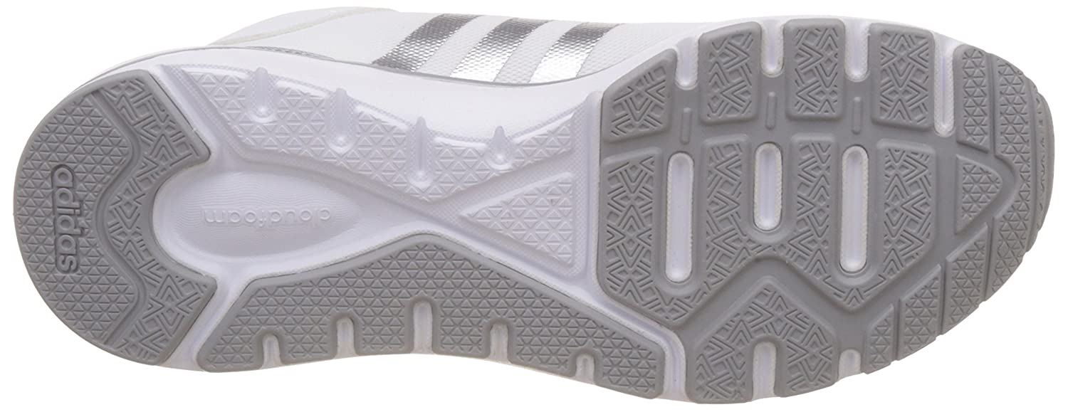 adidas neo Women's Cloudfoam Metis W Shored, Ftwwht and Shored Sneakers