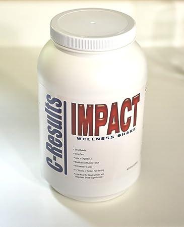 Amazon.com: Impacto Wellness Shake, Blanco, 1: Health ...