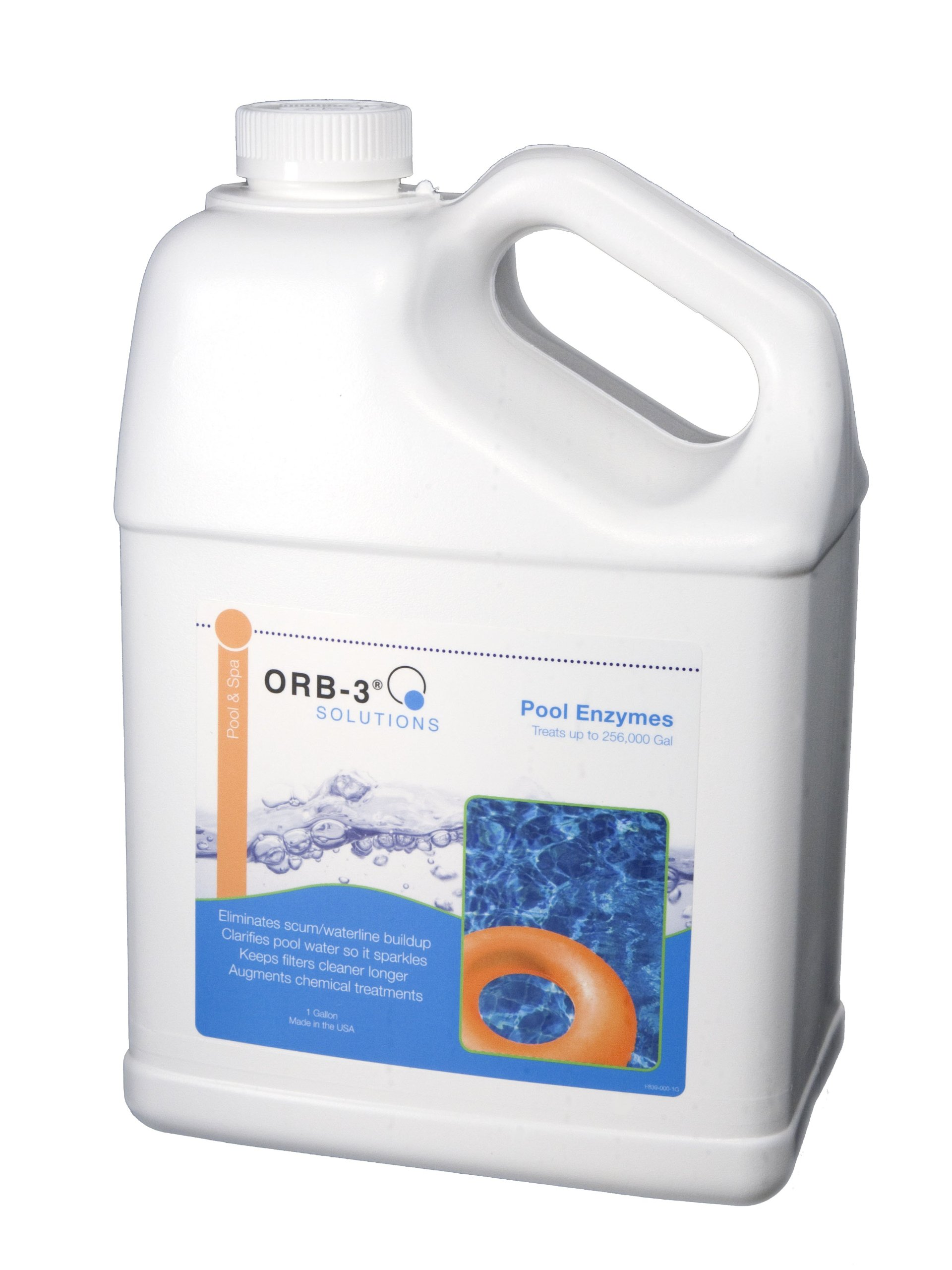 Orb-3 F839-000-1G Pool Enzymes Jug, 1-Gallon by Orb-3