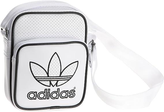 adidas Bolsa Perforada Mini Hombro, Blanco/Negro, 18 x 21 x 7 cm, 4 litros, x52625 para Mujer: Amazon.es: Ropa y accesorios