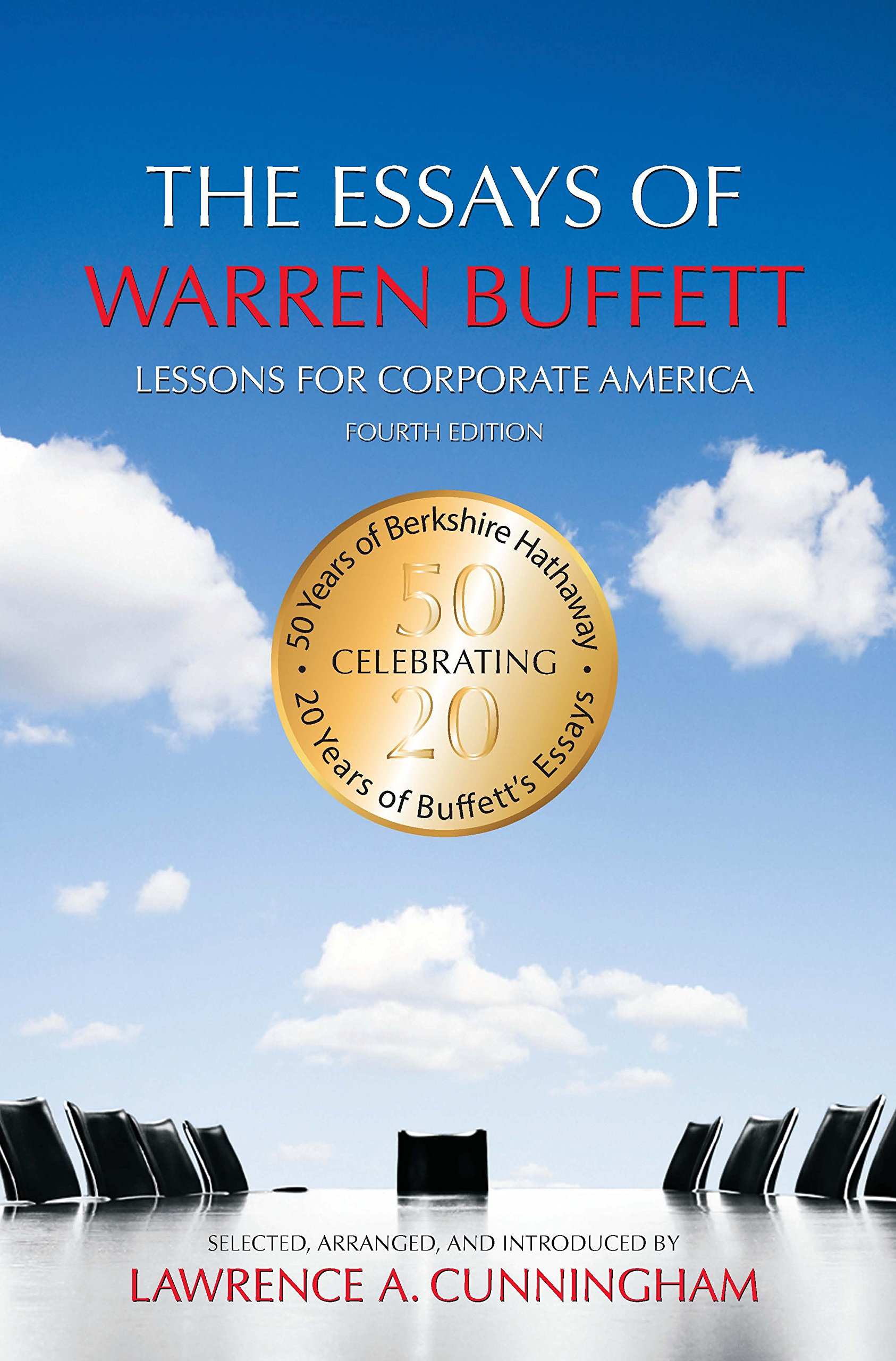 The Essays of Warren Buffett book front cover